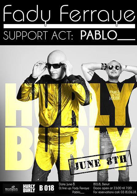B018 Presents Hurly Burly