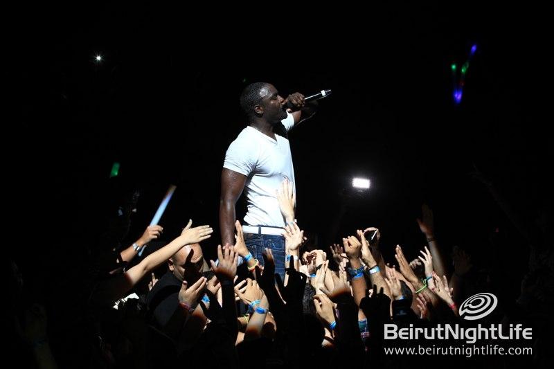 Akon in Lebanon was an EPIC Concert!