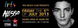 Alesso is Coming to Shake it up at Iris Beach Club on July 5!