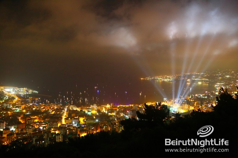 Launching Jounieh International Festival 2013 with A Burst