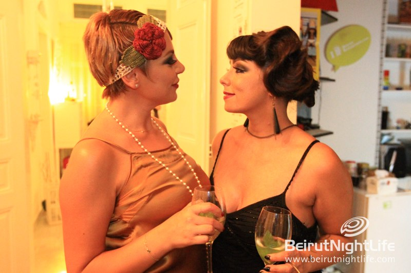 Great Gatsby Style Party at Blue House Celebrates No Brand's 7th Anniversary