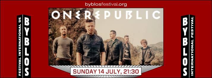 OneRepublic at Byblos International Festival