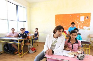 Lebanese Actor Mazen Moadam Supports Epilepsy Awareness Campaign in Lebanon