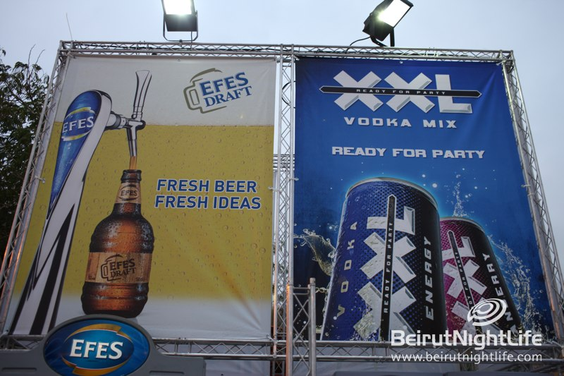 XXL and EFES at The Byblos International Festival