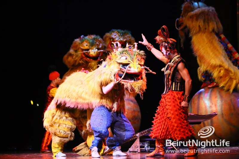 Lebanon Astounded by Cirque Du Soleil's Dralion Show
