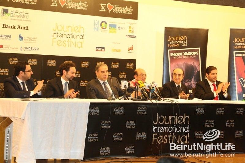 Announcing Jounieh International Festival 2014 Lineup!