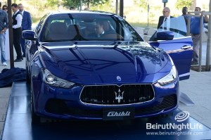 New Maserati Ghibli unveiled in Beirut
