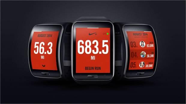 Samsung Gear S Nike+