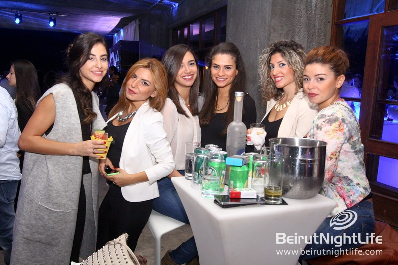 J2 Vodka Officially Takes Flight: Lebanon's first premium vodka makes its official debut among the party elite in Beirut