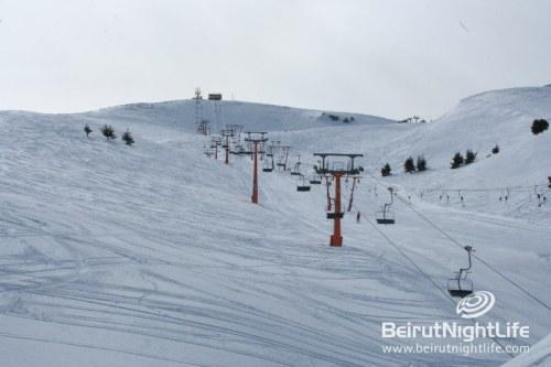 Ski Slopes in Lebanon