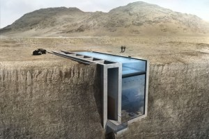 JAMES BOND-STYLE CLIFF RESIDENCE TO BE BUILT IN FAQRA