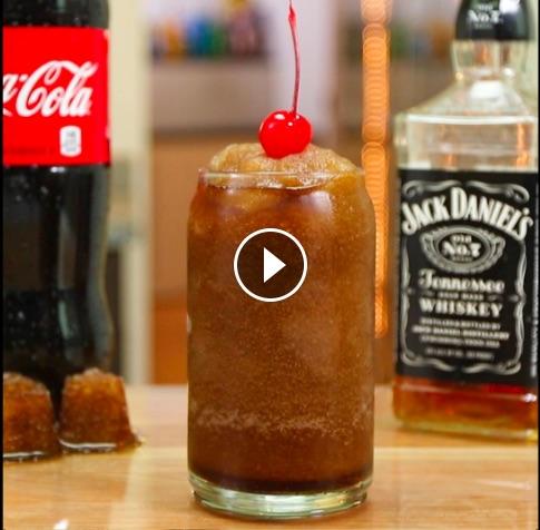 Jack Daniels & COKE SLUSH