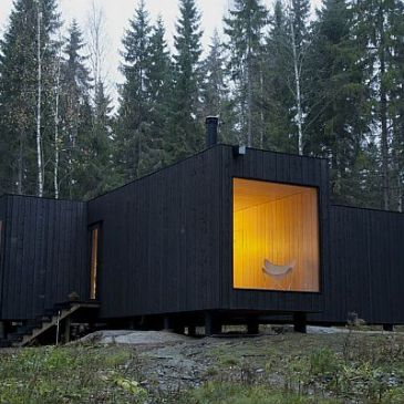 Simply Furnished Small House On A Lake In Finland