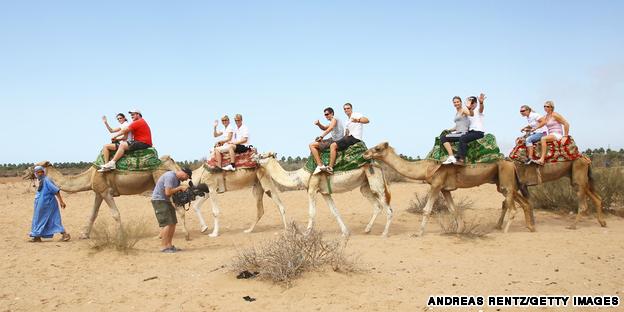 camel trek, morocco