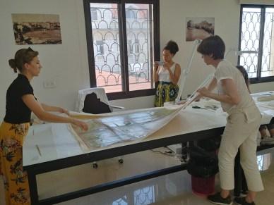 chantier école restauration INP liban centre beit gazo