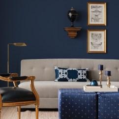 Navy Sofa Beige Walls Usado Em Curitiba Olx 50 Shades Of Blue  Home Decor