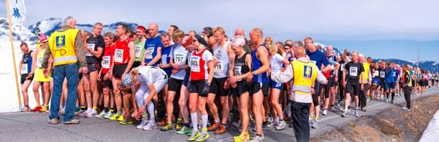 Fjellmaraton 31 mai på Beitostølen