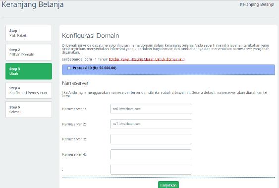 Cara Membeli Domain Murah untuk Blog di IdWebHost.com