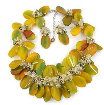 Necklace Bejeweled By Gina