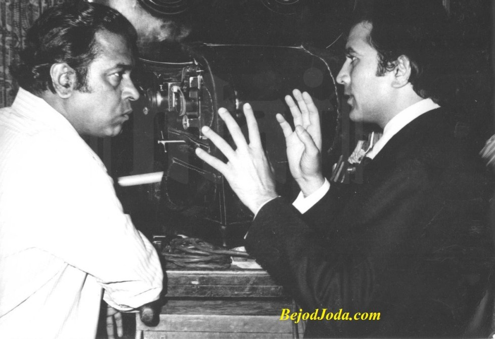 Director-actor pair Shakti Samant and Rajesh Khanna