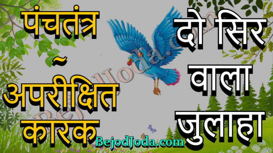do sir wala julaha panchtantra story in hindi