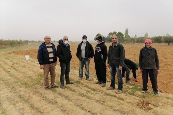 مشروع زراعي لبلدية القاع يستفيد منه 75 مزارعا وفقراء البلدة