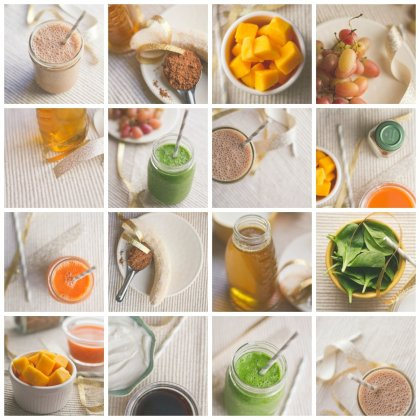 Creative and healthy smoothies