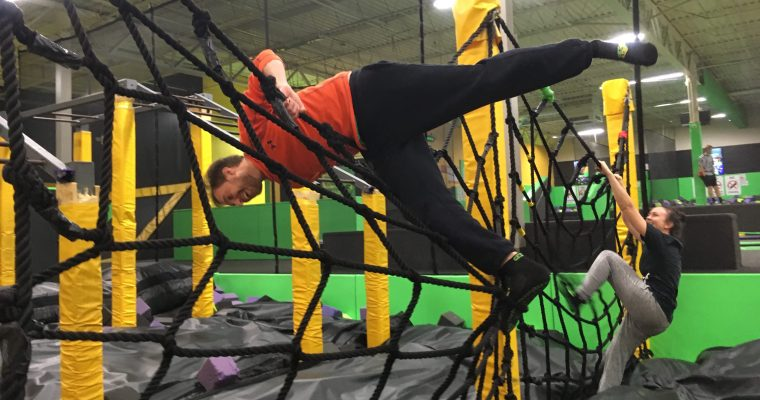 Hinterland, Week Six: Let's take a break and talk about trampoline parks