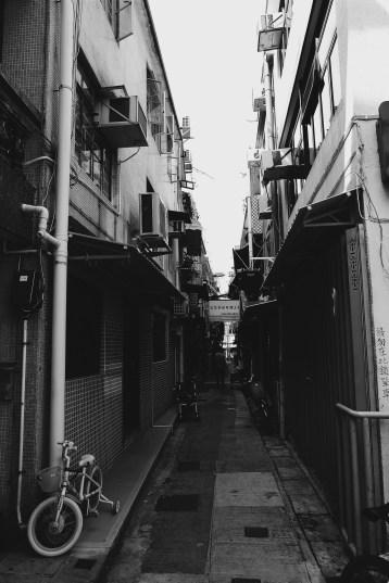 Alleyway Photo copyright Rebecca Lau