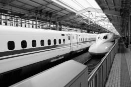 Shinkansen Photo copyright Rebecca Lau