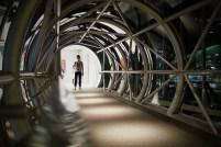 Tunnel Photo copyright Rebecca Lau