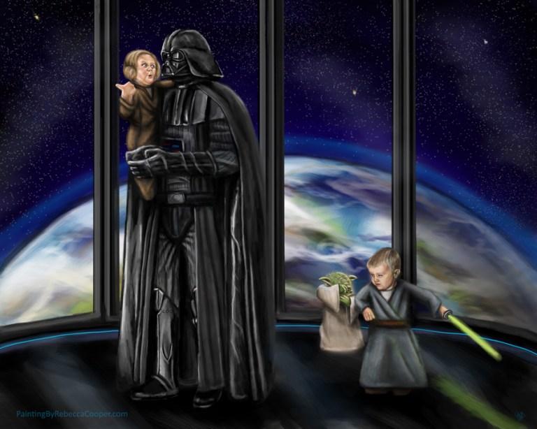 StarWars Fan Art: The Not So Dark Side