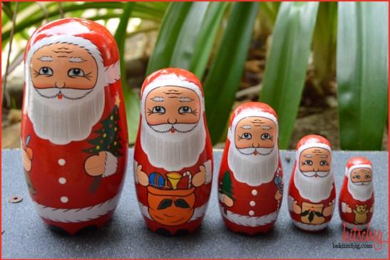#xmas #santa #nesting doll