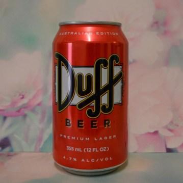 #Duff #beer #packaging