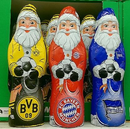 #Fussball #Weihnachtsmann