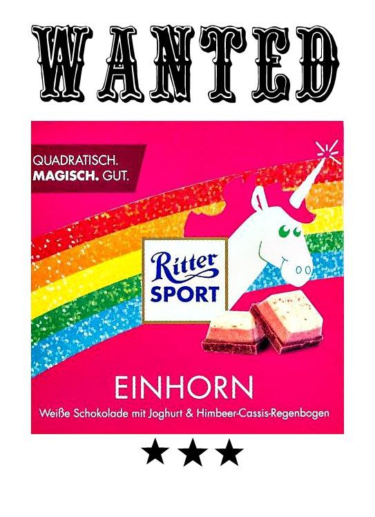 Ritter Sport Einhorn Schokolade Der Skandal