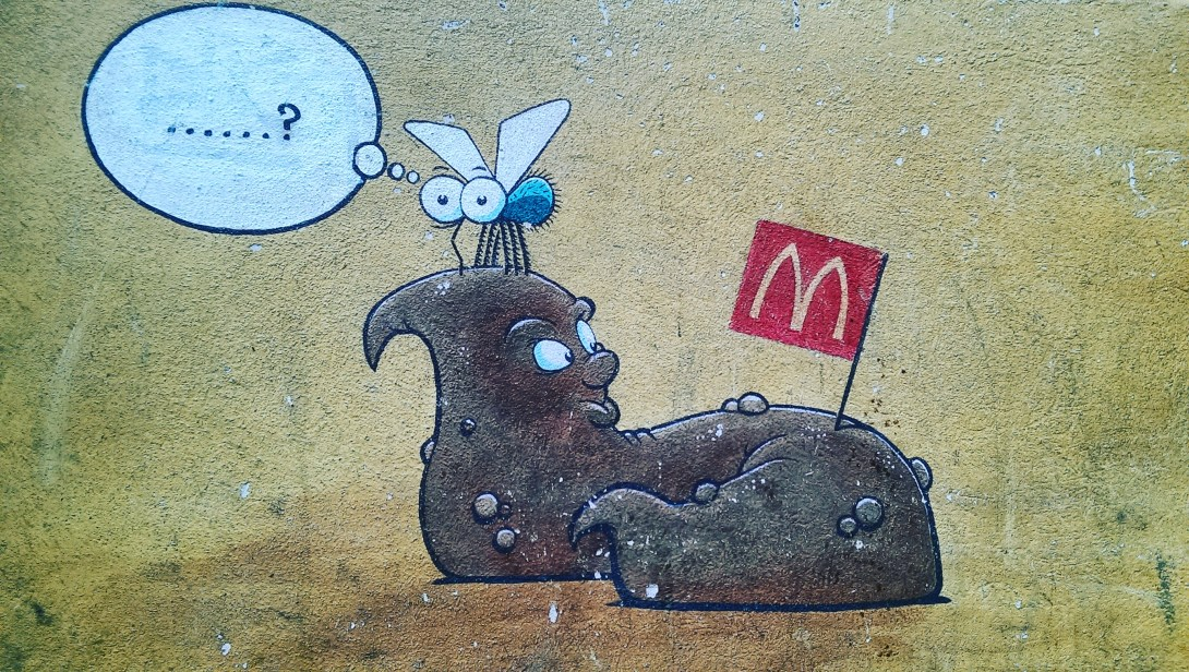 street art berlin turd McDonalds be kitschig blog