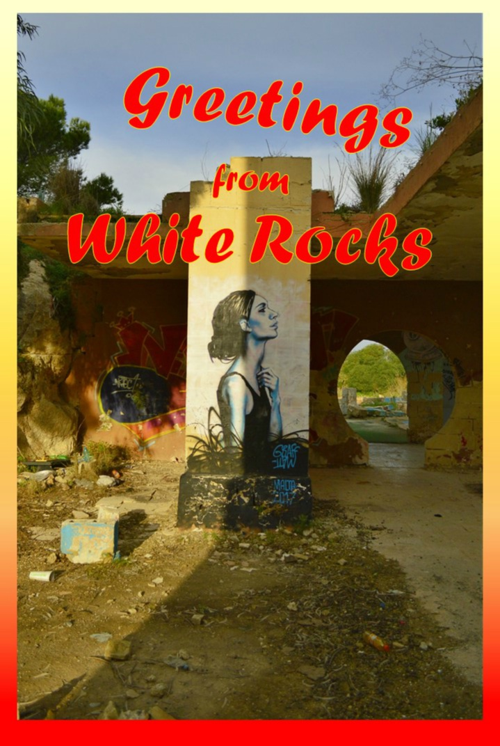 be kitschig ghost town White Rocks Malta Lost Places