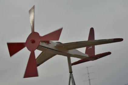 Quantas Plane Snowtown South Australia
