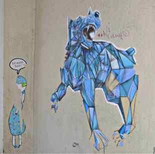 Strassenkunst art Berlin be kitschig blog