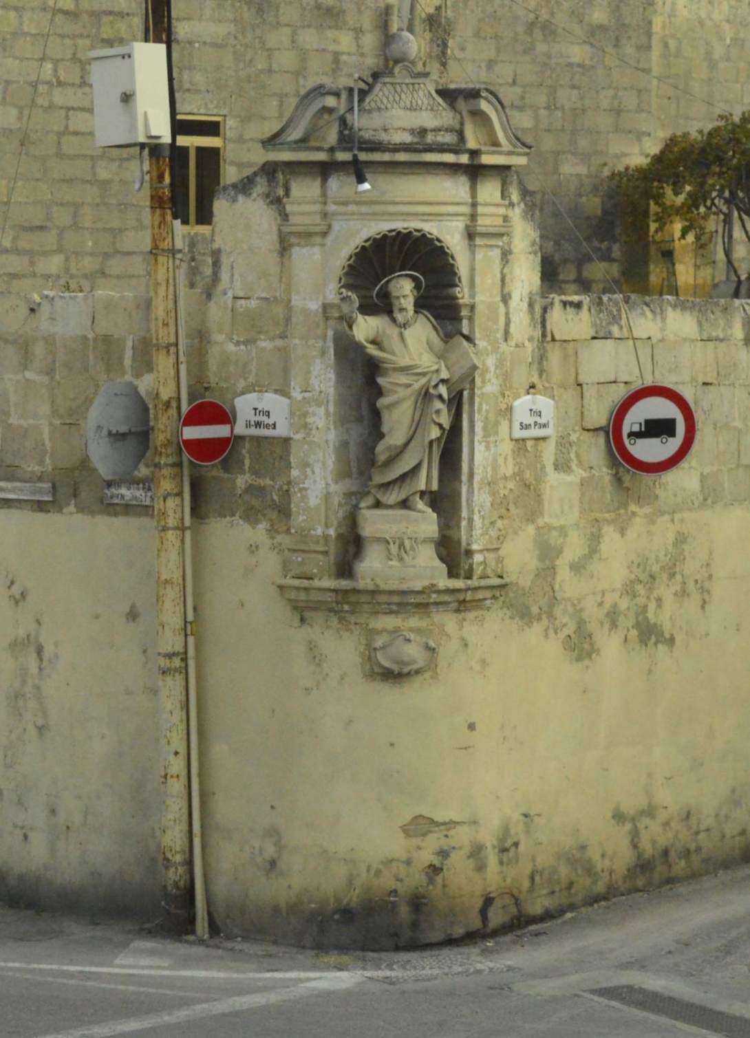 Maria Statue auf Malta