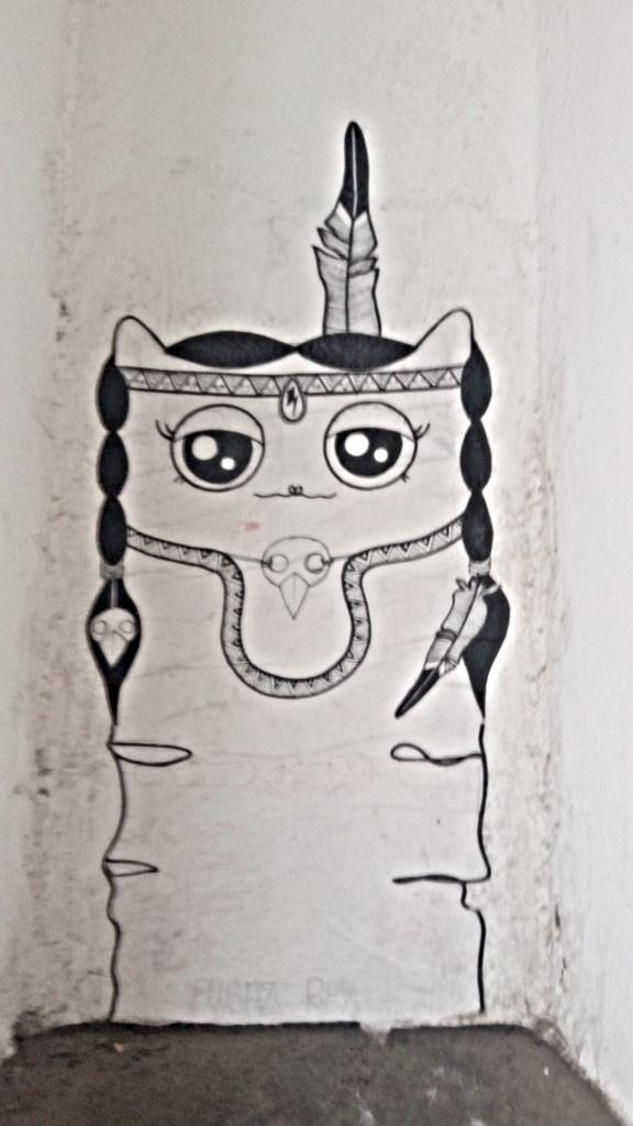 cute kitty streetart berlin RABEA SENFTENBERG be kitschig blog