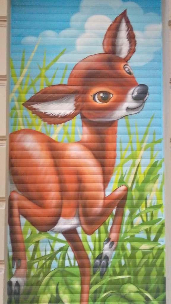Dear deer urbanart mural streetart