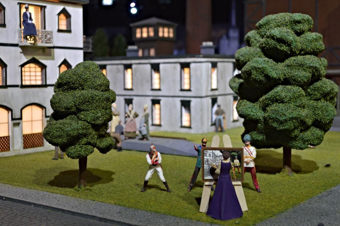 Geschichte von Berlin Kaiser Zeiten Little Big City Berlin Miniatur miniature Sehenswürdigkeiten Sight seeing be kitschig blog