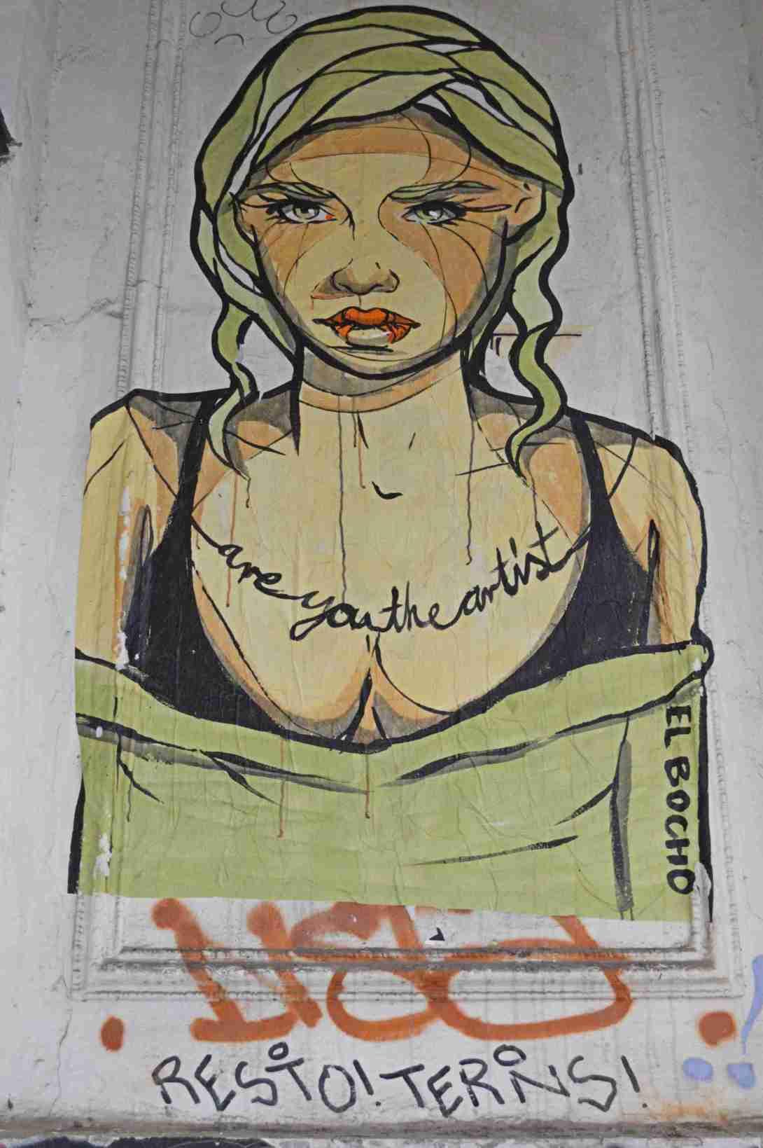 El Bocho streetart be kitschig blog