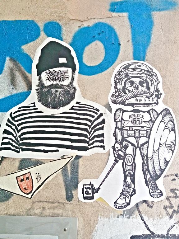 P S riot street art be kitschig blog