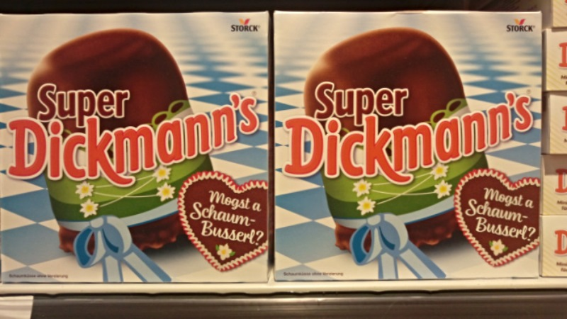 Dickmans Schaumküsse Oktoberfet Food German odd