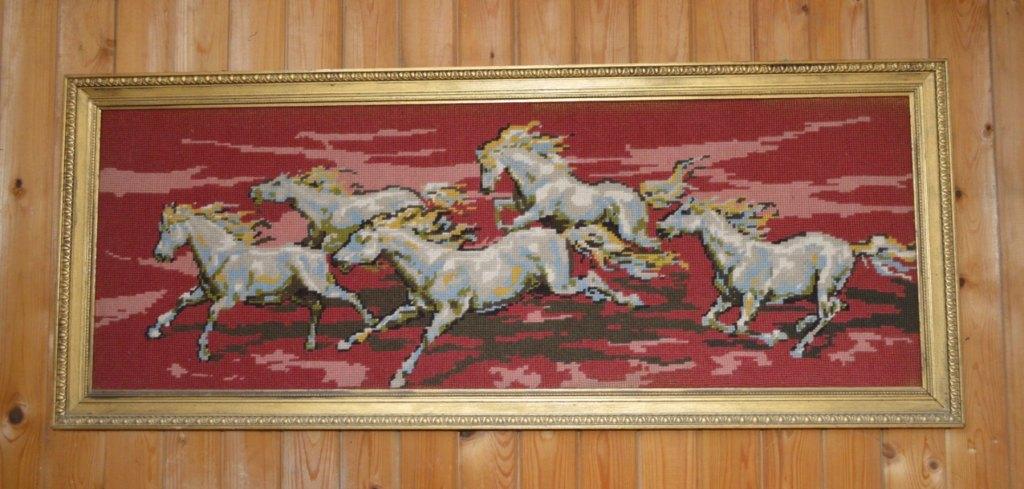 cross stitch horses Pferde