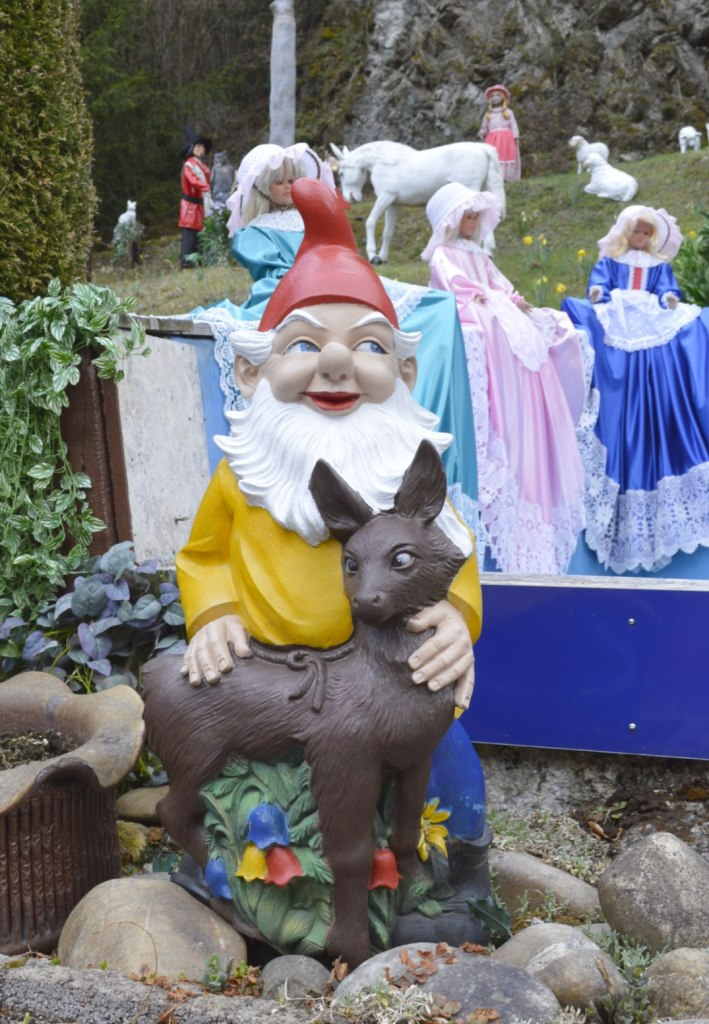 Märchenwald Saalburg Gartenzwerg Garden Gnome