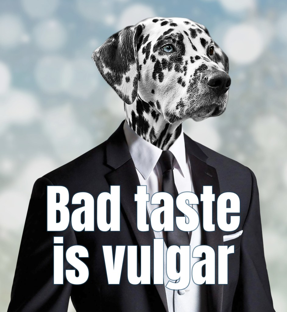 Kanye West Quote Bad Taste is vulgar